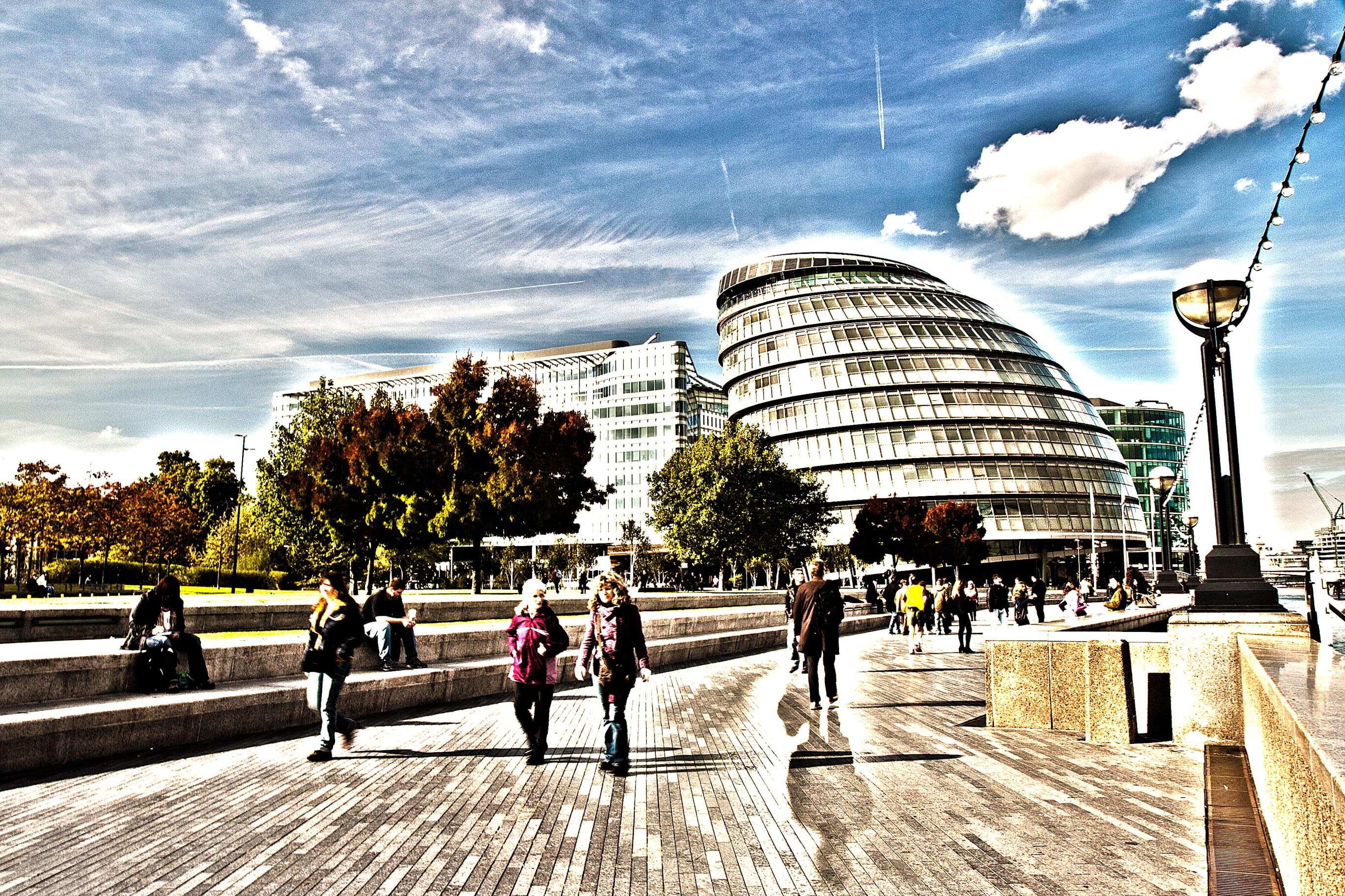 City Hall and Queen's Walk – HDR
