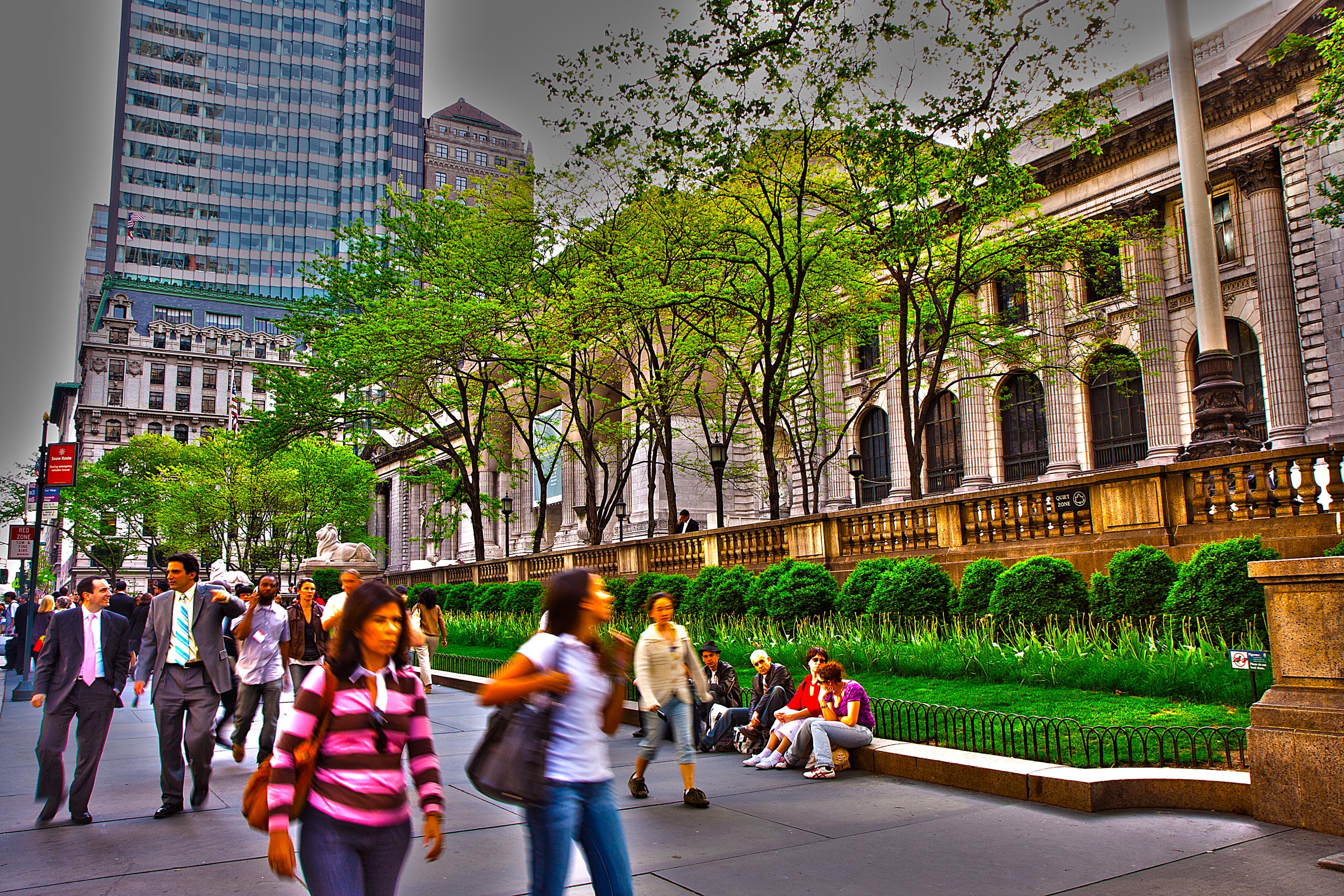 New York Public Library – HDR
