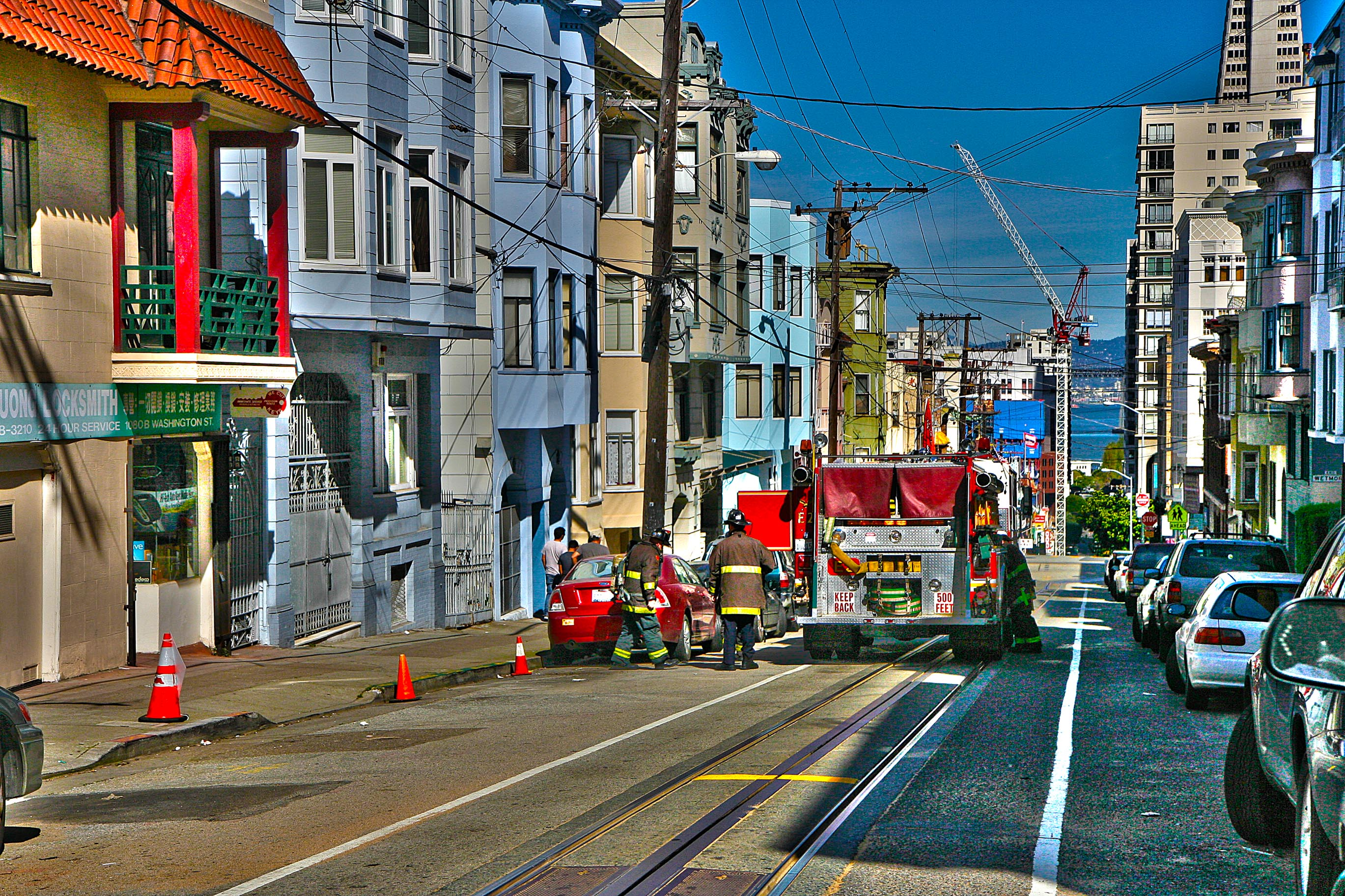 San Francisco Fire Department workers – HDR