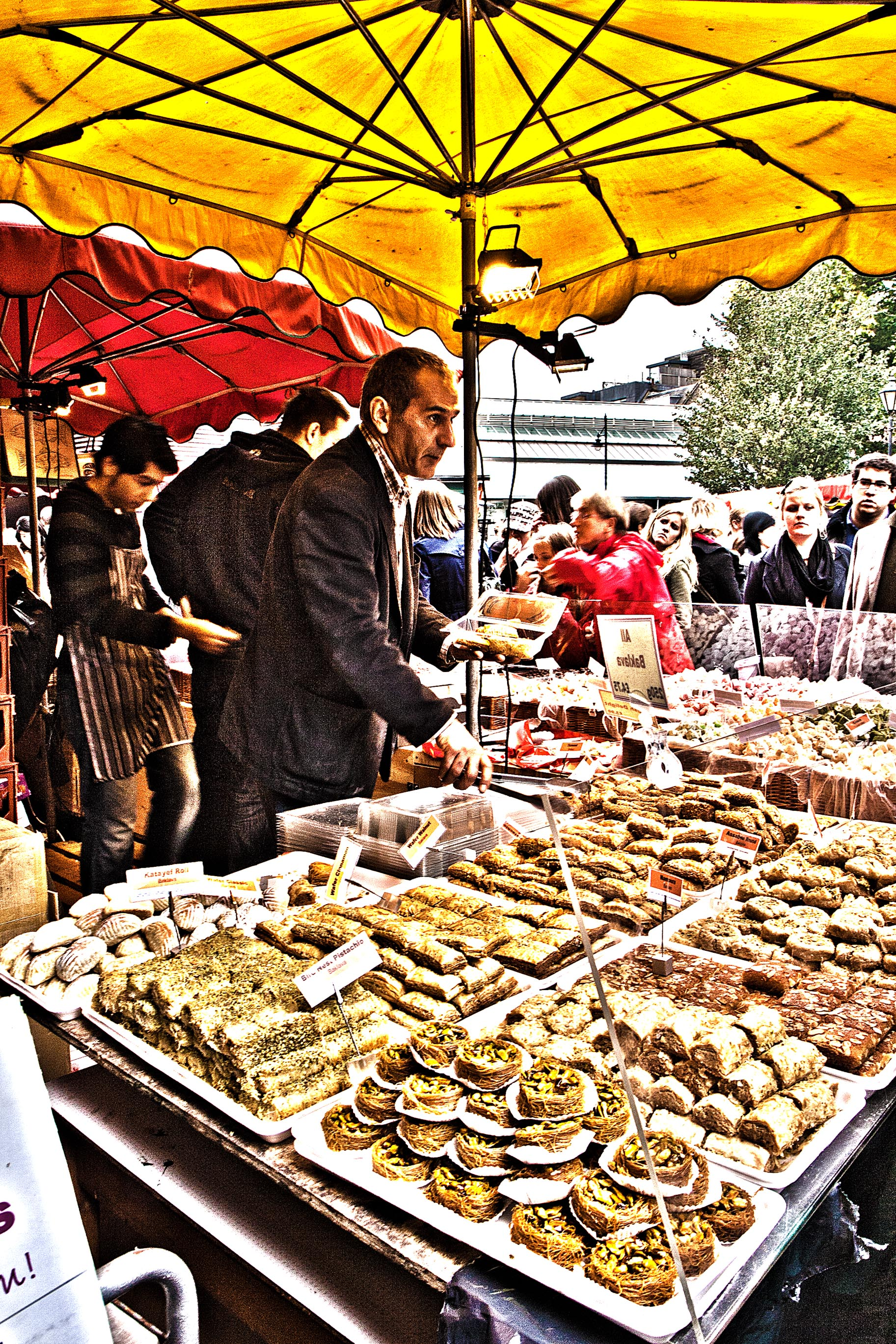 Sweets and Candies at the Borough Market – HDR
