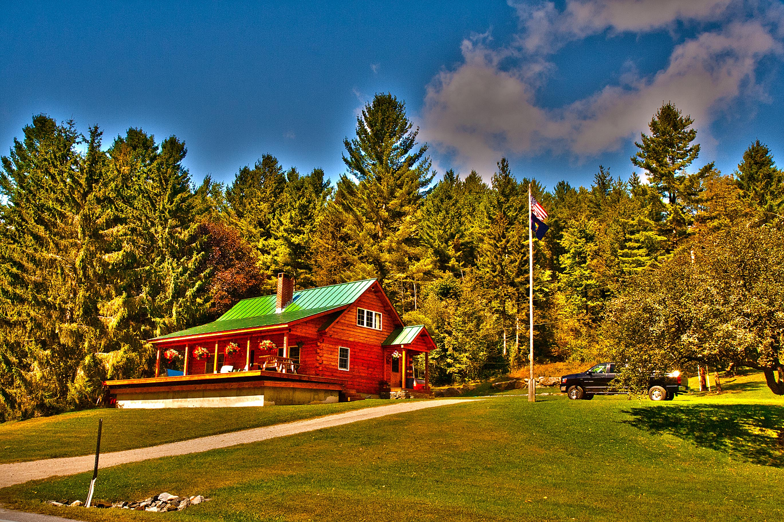 A wonderful house in Green Mountain – HDR