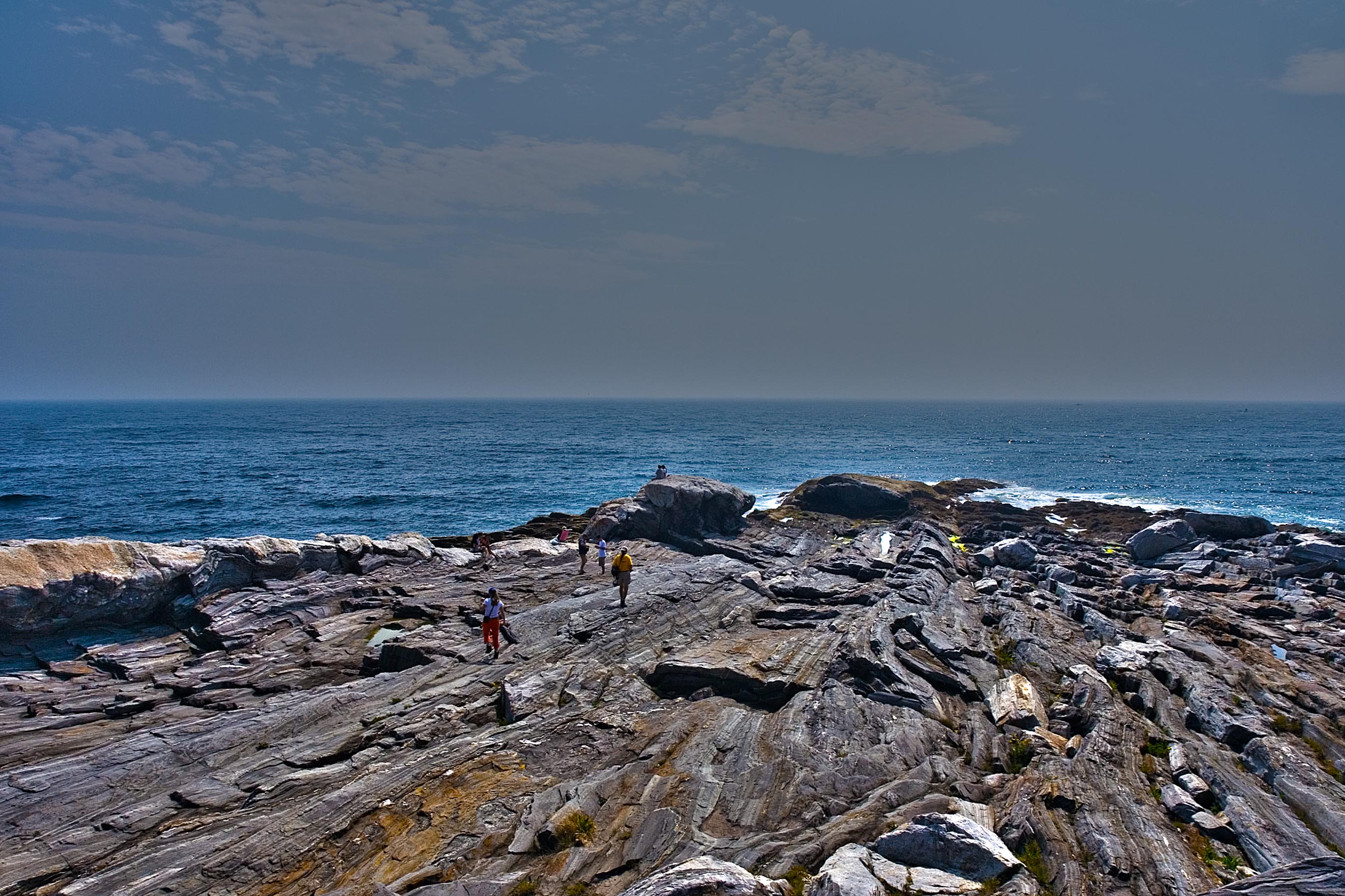 Coastline at Pemaquid Point