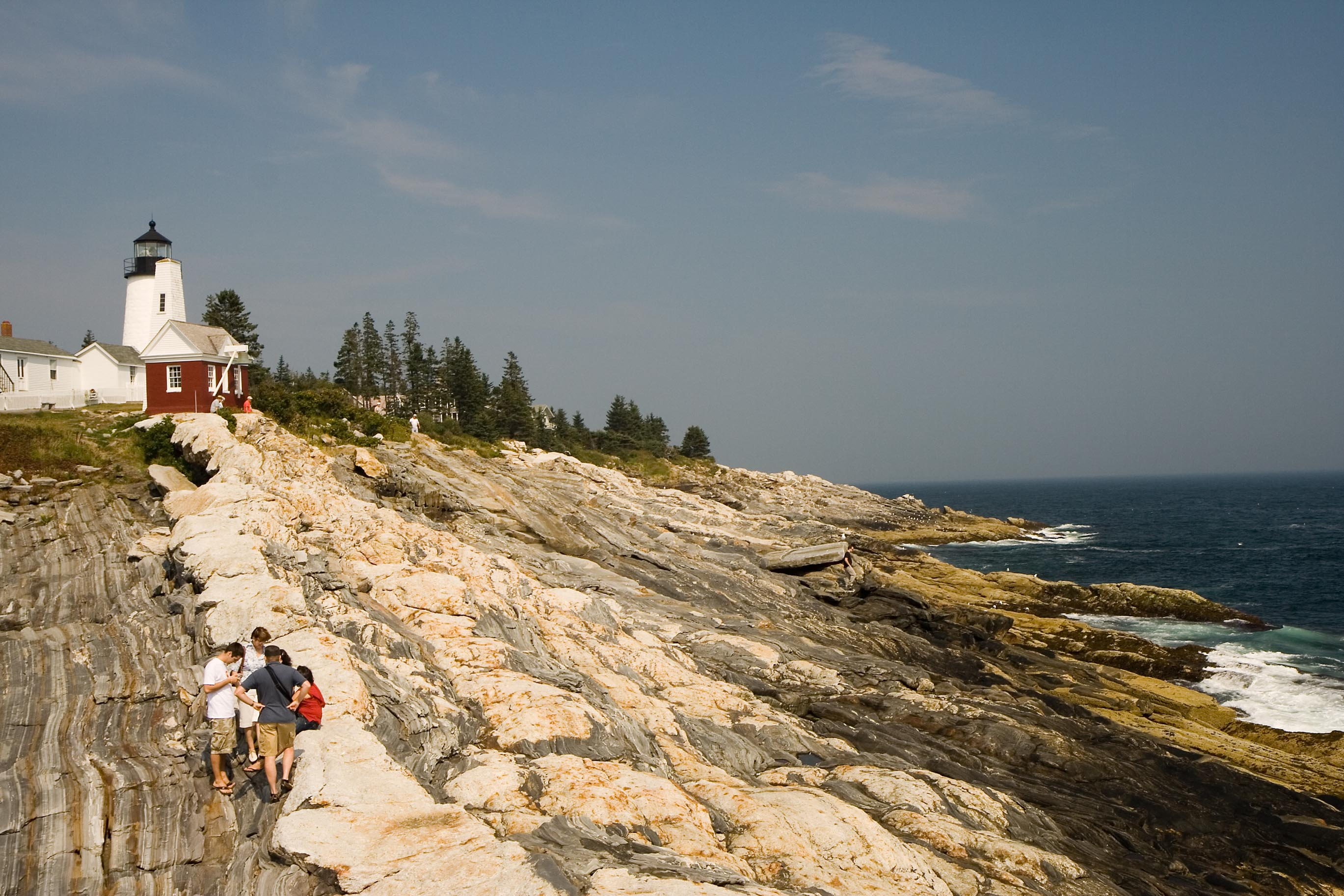 View of Pemaquid Point Lighthouse – 5
