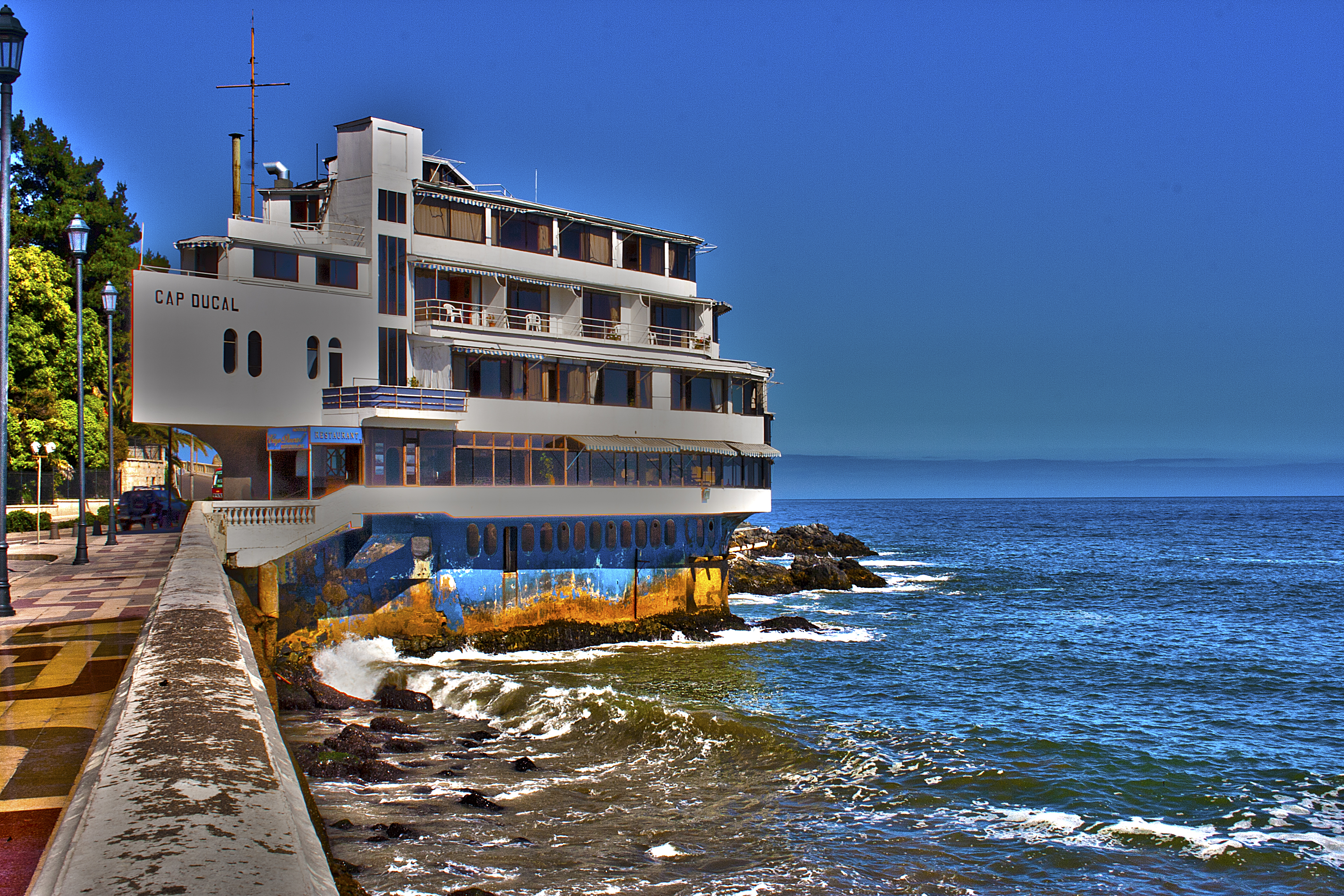View of Cap Ducal Hotel – HDR