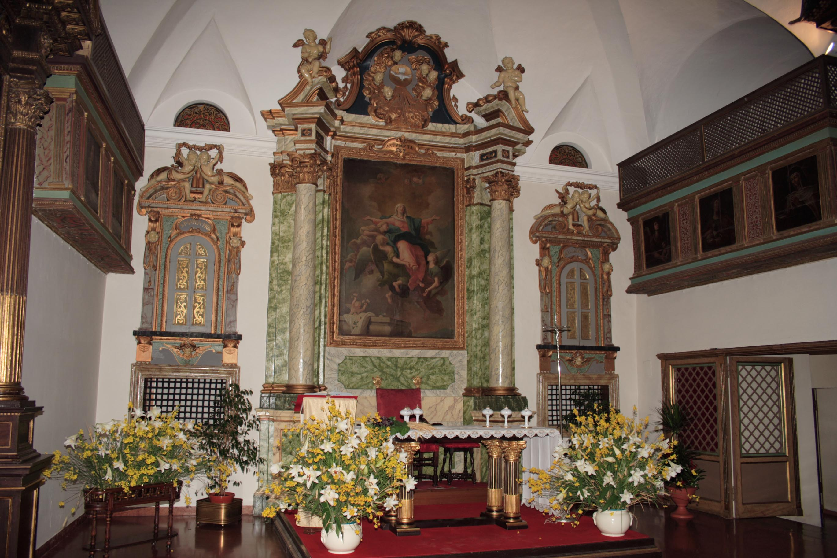 Chapel of the Monastero S. Maria del Monte