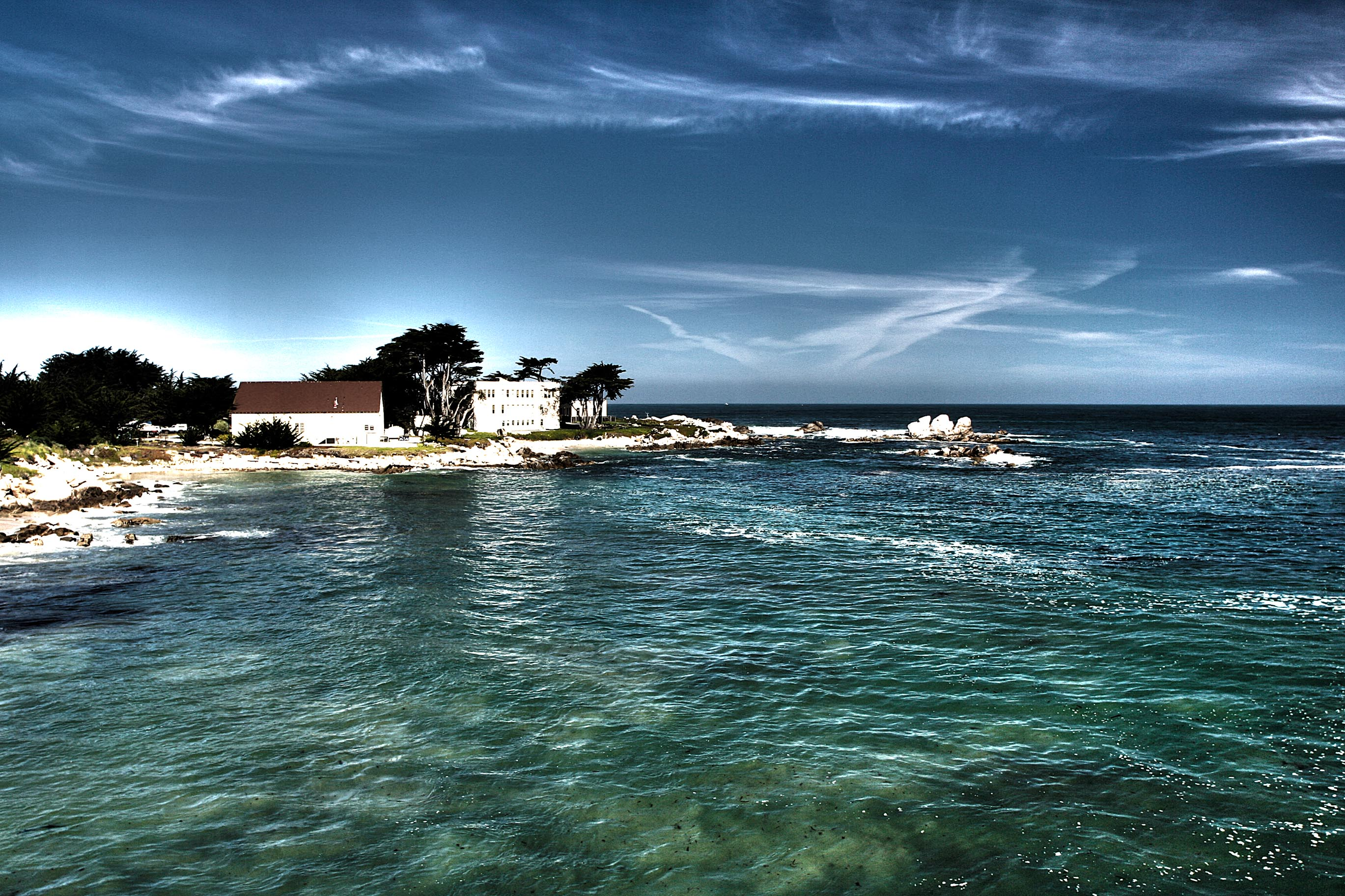View of the coastline near Monterey  – HDR