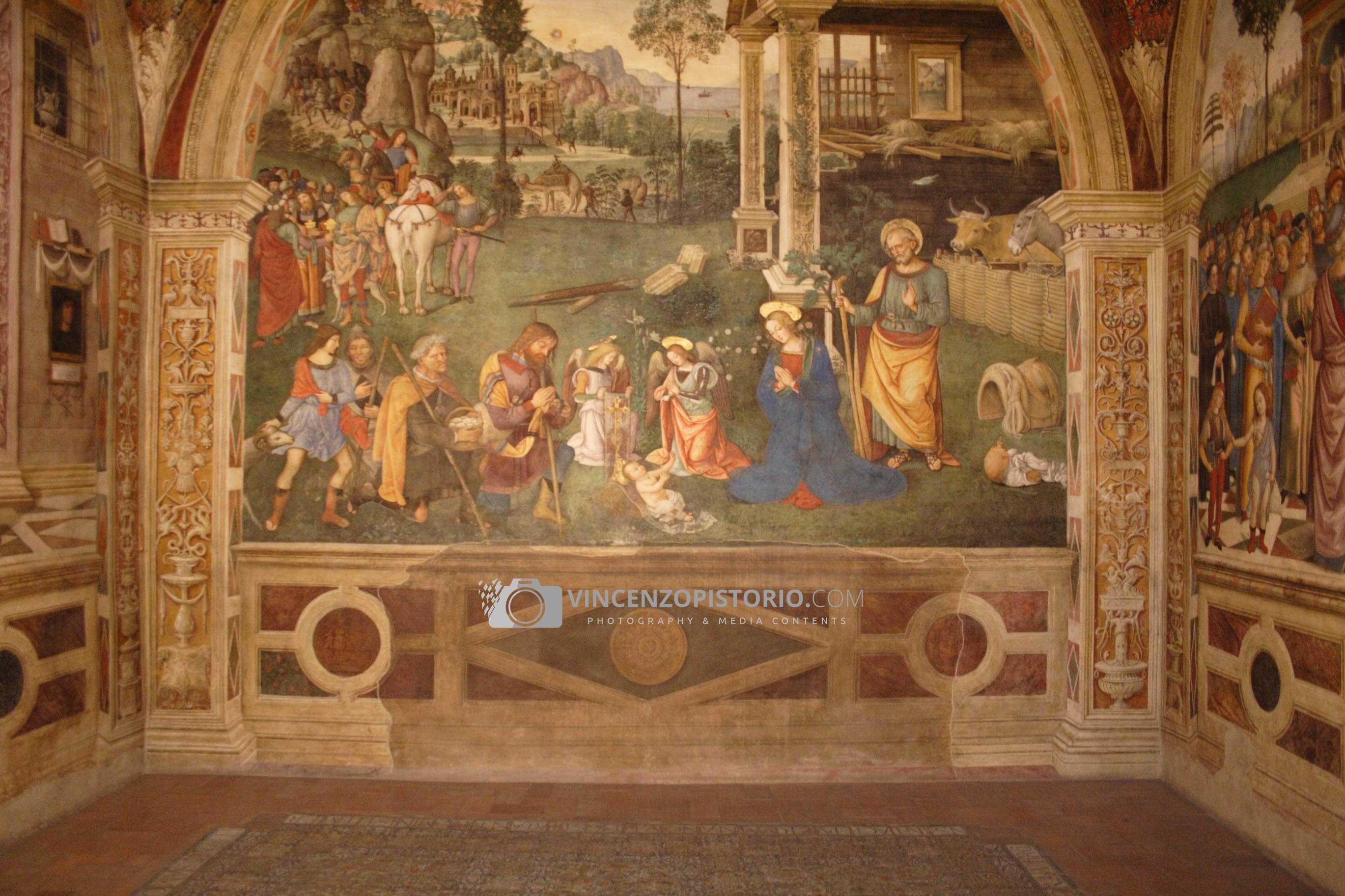 Pinturicchio – Adorazione dei Pastori (S. Maria Maggiore)